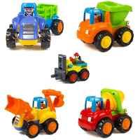 5 pièces inertie jouet début éducatif enfant en bas âge bébé jouet Friction alimenté voitures Push & Go voitures jouets pour enfants garçons filles enfants cadeau