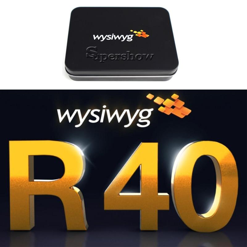 WYSIWYG Release 40 R40 Preform Dongle Wysiwyg