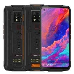 OUKITEL WP7 Global Bands IP68 Водонепроницаемый 6,53 дюймов FHD NFC 8000 мАч 48MP Тройная камера Android 9,0 8 Гб 128 ГБ Helio P90 смартфон