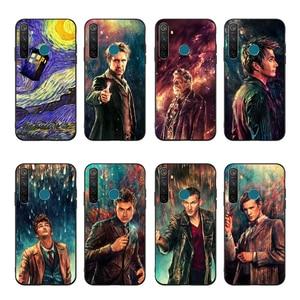 NBDRUICAI Doctor Who Tardis Box art чехол для телефона чехол для OPPO Realme 5 3 2 Pro F7 F9 F11 F3 RENO Cover