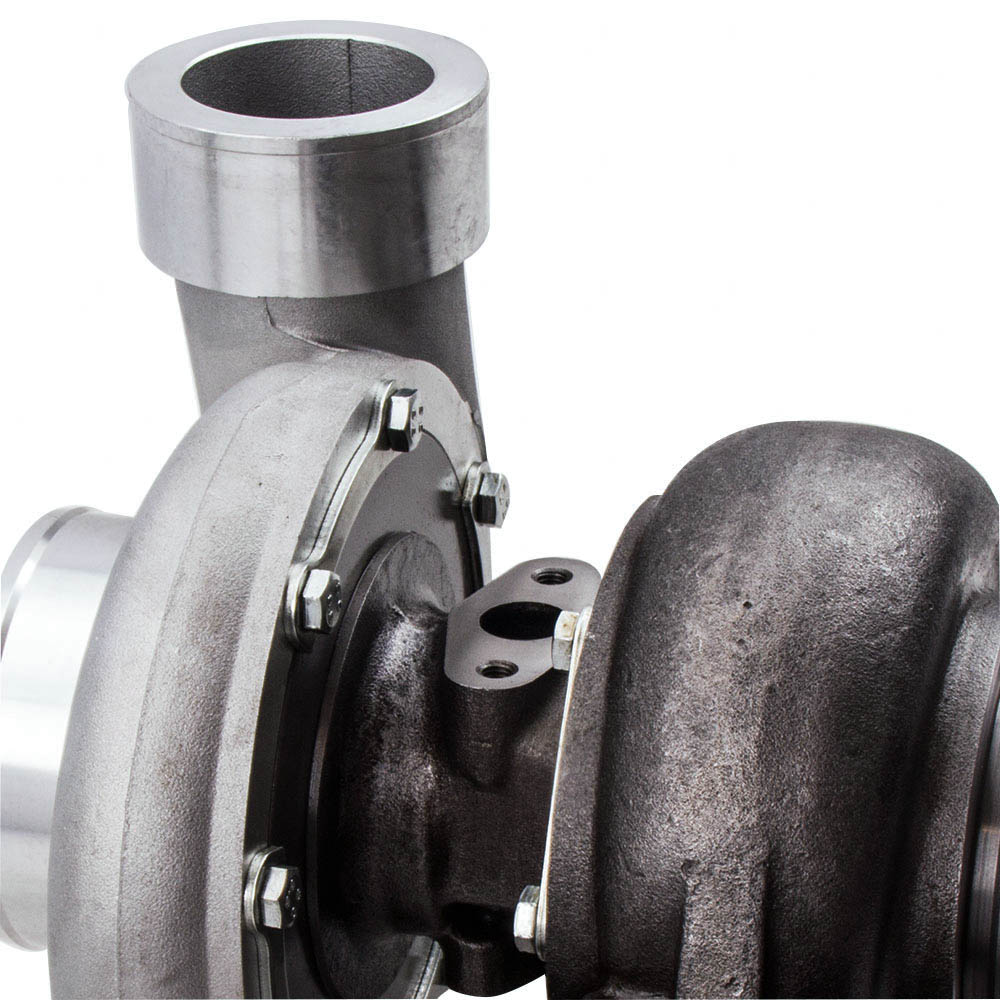 GT45 T4/T66 Racing V Band Turbo Charger + Olie Afvoer Feed & Return Lijn Kits Turbo tot 600 Hp 1.05 A/R 98 Mm - 6