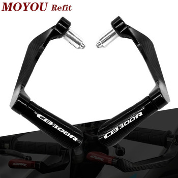 For HONDA CB300R CB 300R CB 300 R 2018 2019 Motorcycle 7/8 22mm CNC Handlebar Grips Guard Brake Clutch Levers Guard Protector image