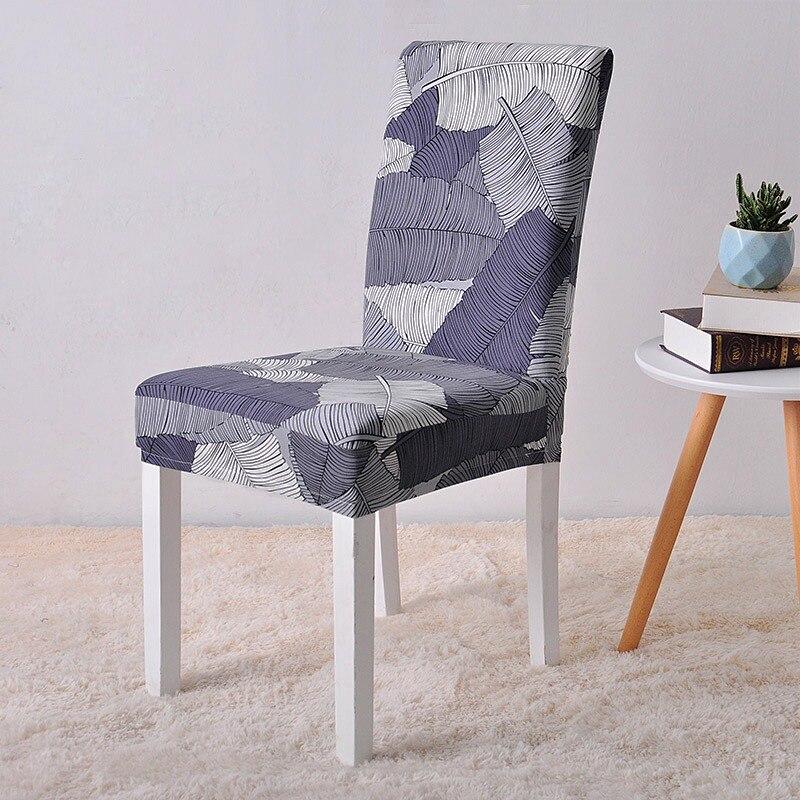 Housses de chaise Spandex élastique chaise protecteur housse de protection Coprisedie cuisine à manger housses de siège pour ordinateur chaise housse de chaise