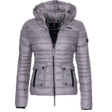 ZOGAA Short Women Parkas Winter Cotton Padded Light Warm Hooded Coats Female Casual Solid Slim Zipper Pockets Jackets Outerwear цены онлайн