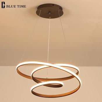 New Arrivals Modern Led Pendant Light For Living Room Dining Room Bedroom Indoor Luminaires Led Pendant Lamp Lighting Fixture