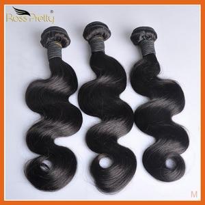 Tissage en lot péruvien Non Remy naturel Body Wave-1b | Couleur naturelle, Extension de cheveux, 1/3/4 pièces