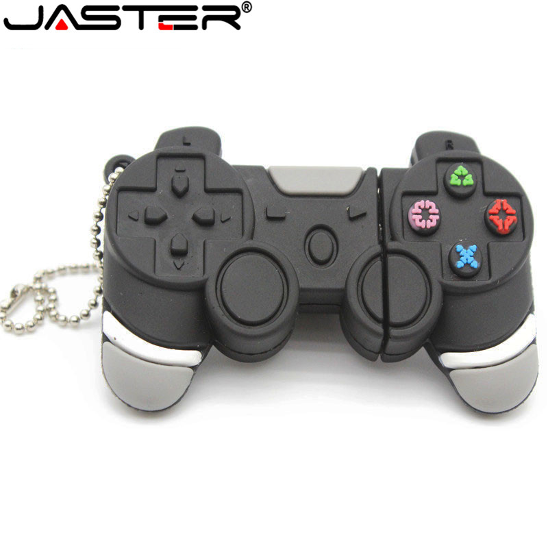 JASTER Hot Sale Usb Stick Game Handle Pen Drive 64GB/32GB/16GB/8GB/4GB Pendrive Usb Stick Usb 2.0 Free Shipping Flash Card Gift