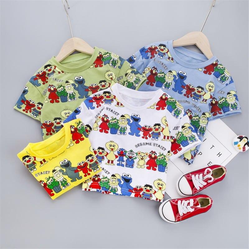 Children Boy/'s T Shirt Cotton Star Short Sleeve Tops O Neck T Shirt Tees Blouse