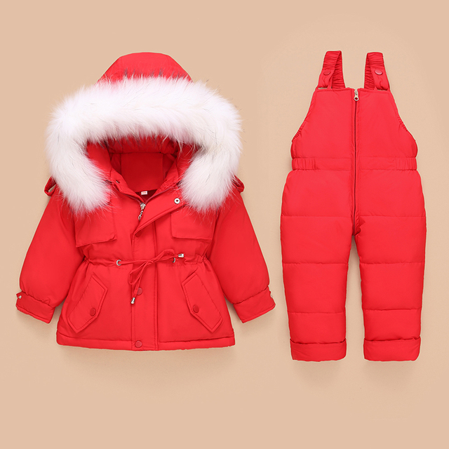 Toddler Down Coat and Pants 5
