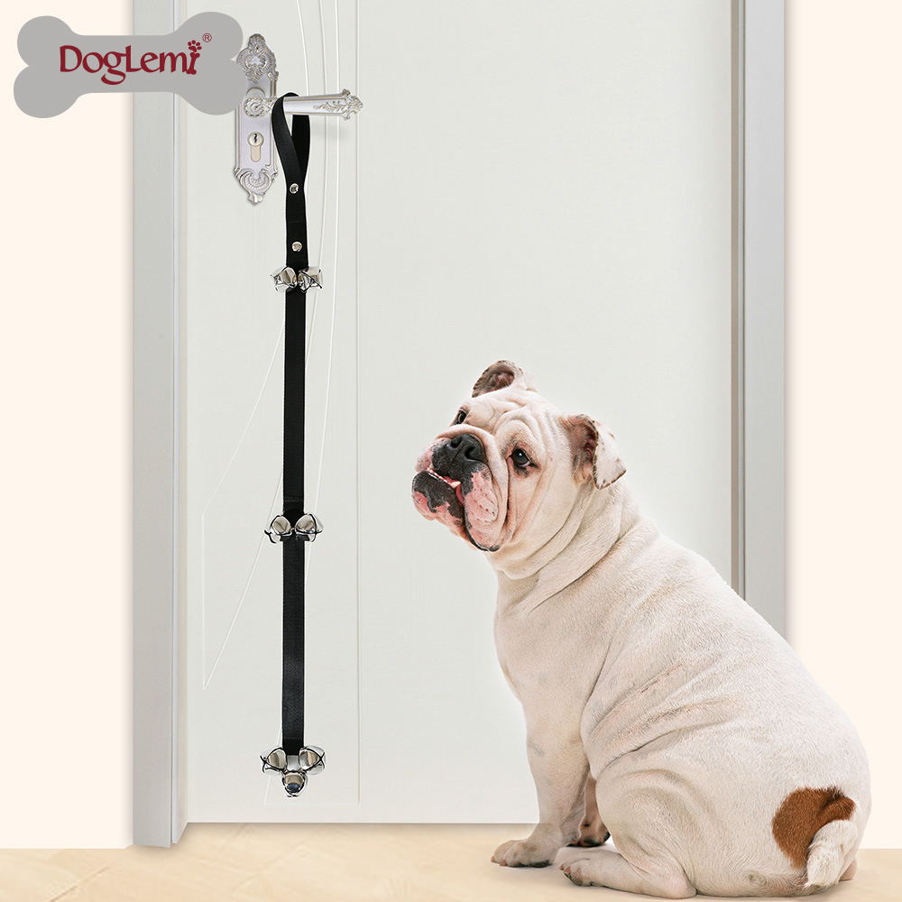 Pet Supplies Manufacturers Direct Selling Practical Toilet Room Dog Doorbell Lanyard Dog Training Door Opening Nursing Bell Lany