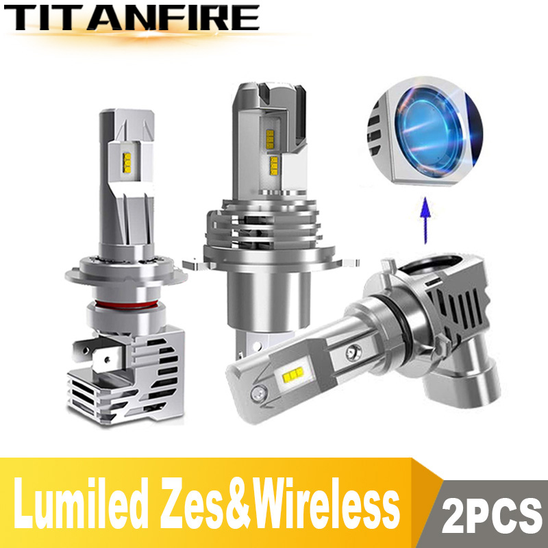 TF30 NEW Arrivals <font><b>110W</b></font>/Pair 15000LM LED HB4 H1 HB3 H8 H11 H7 H4 LED Car/Motorcycle Headlight Bulbs Hi/Lo 6000K 12V 24V LED H4 image