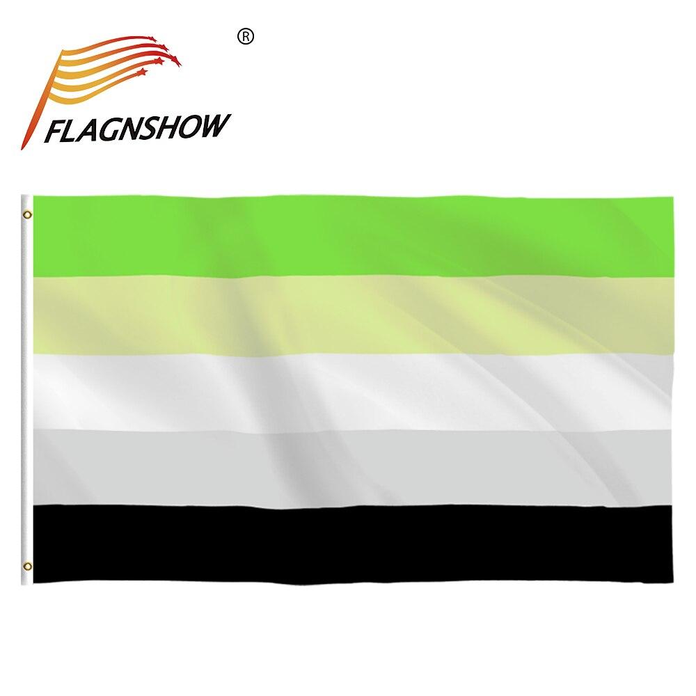 Бесплатная доставка флаги ЛГБТ флаги Flagnshow Bandera 90x150 см ароматический Радужный Флаг Гордости для геев