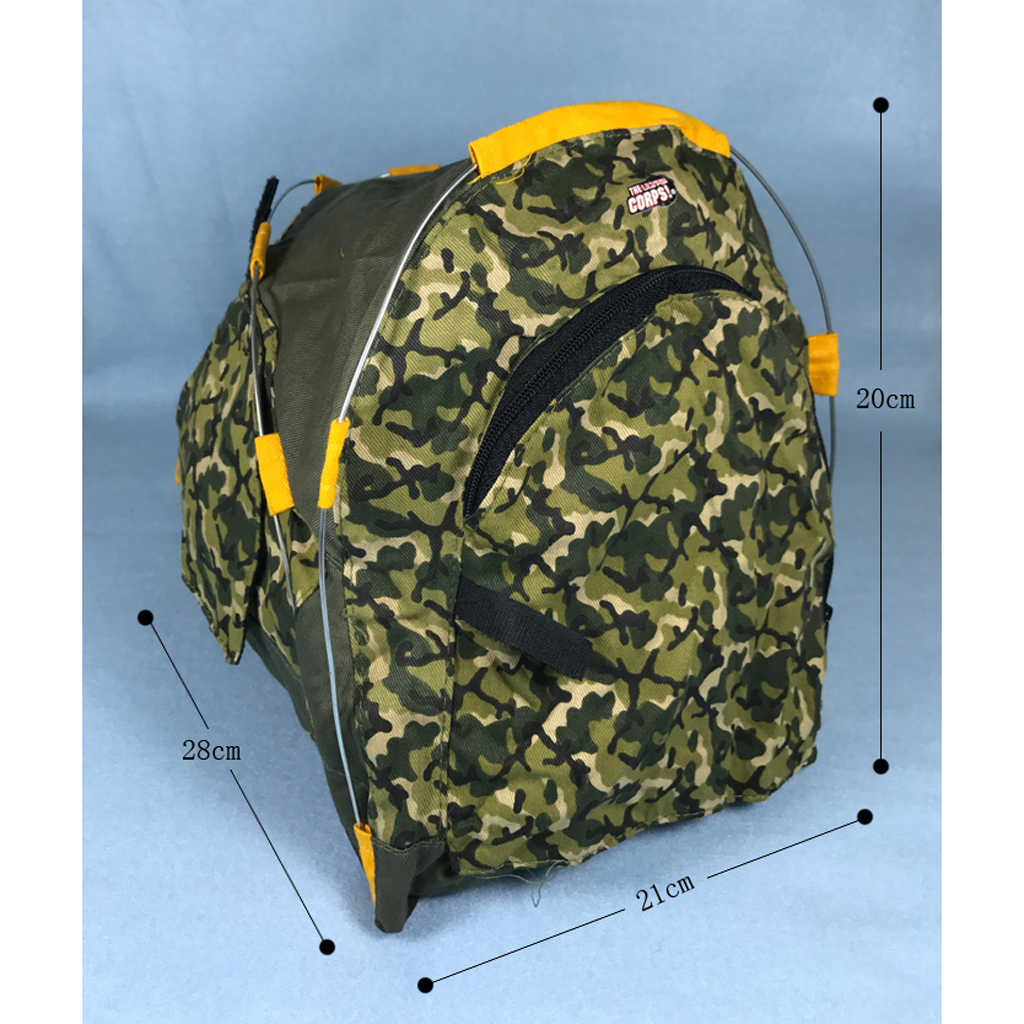 """Doll Sleeping Bag Hiking Backpack Accessory For 12/"""" Dolls 1//6 BJD Soldier Figure"""