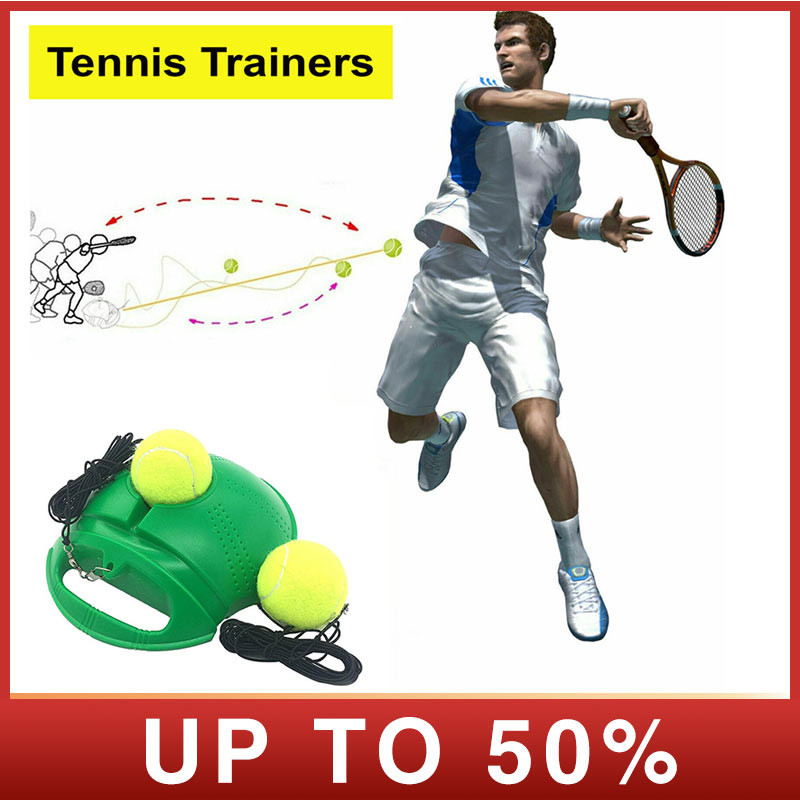 Fill Drill Trainer Youth Intensive Tennis Practice Tennis Ball Trainer Self-study Baseboard Player Training Aids Practice Tool