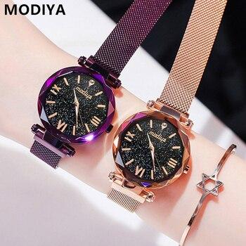 Γυναικείο ρολόι πολυτελείας με milanese ή σουέτ μπρασελέ
