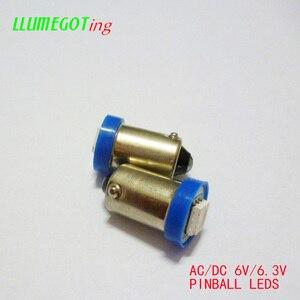 Image 5 - 100pcs BA9S T4W #44 #47 Base 1SMD 5050 6.3V AC No Polarity Various Colour Available for Bally Pinball Game Machine Lamp Bulbs