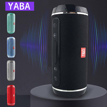 YABA TG116 Wireless Bluetooth Speaker Waterproof Stereo Bass USB/TF/AUX MP3 Portable Music Player