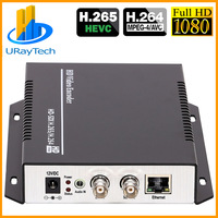 DHL Free Shipping H.265 / H.264 HD /3G SDI To IP Streaming Video Audio Encoder With HTTP /RTSP /RTMP /UDP /ONVIF Protocol