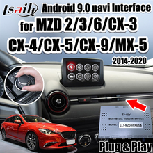 Android 7.1 Navigatie/Carplay Interface Voor 2014-2020 Mazda 2/3/6/MX-5/CX-5/CX-9 Video Interface Ondersteuning Android Auto