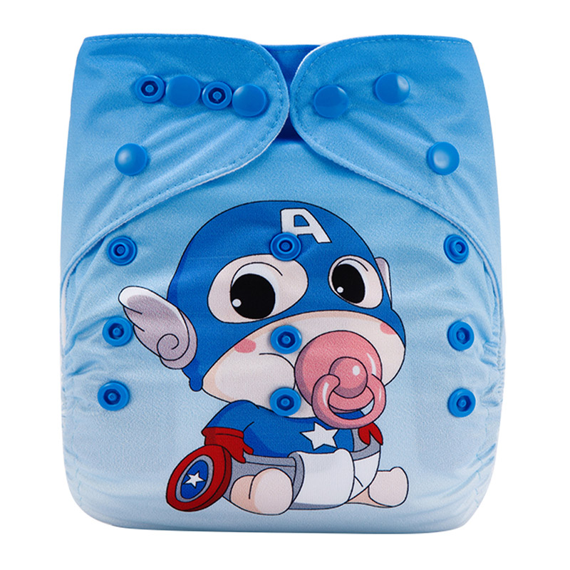 Reusable And Washable Cheap Baby Cloth Diapers Panty Type Of Soft Care Baby Cotton Cloth Diaper DY53