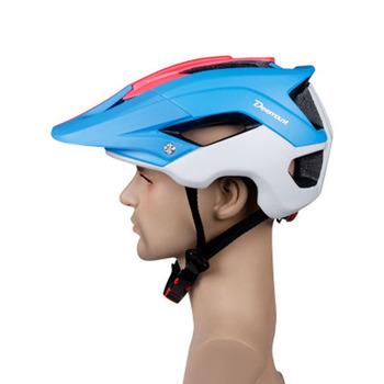 Kaski rowerowe mężczyźni kobiety kask rowerowy tylne światło MTB do roweru szosowego i górskiego integralnie formowane kaski rowerowe tanie i dobre opinie BIKEIN Pro (Dorośli) mężczyzn 225g 8-15 Lekki kask helmet For Head Circumference 57-61 cm Mountain Bike Road Bike Cycling