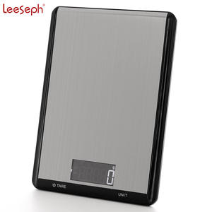 Food-Scale Digital Kitchen Precision Lcd-Display Touch-Screen Tempered-Glass-Surface