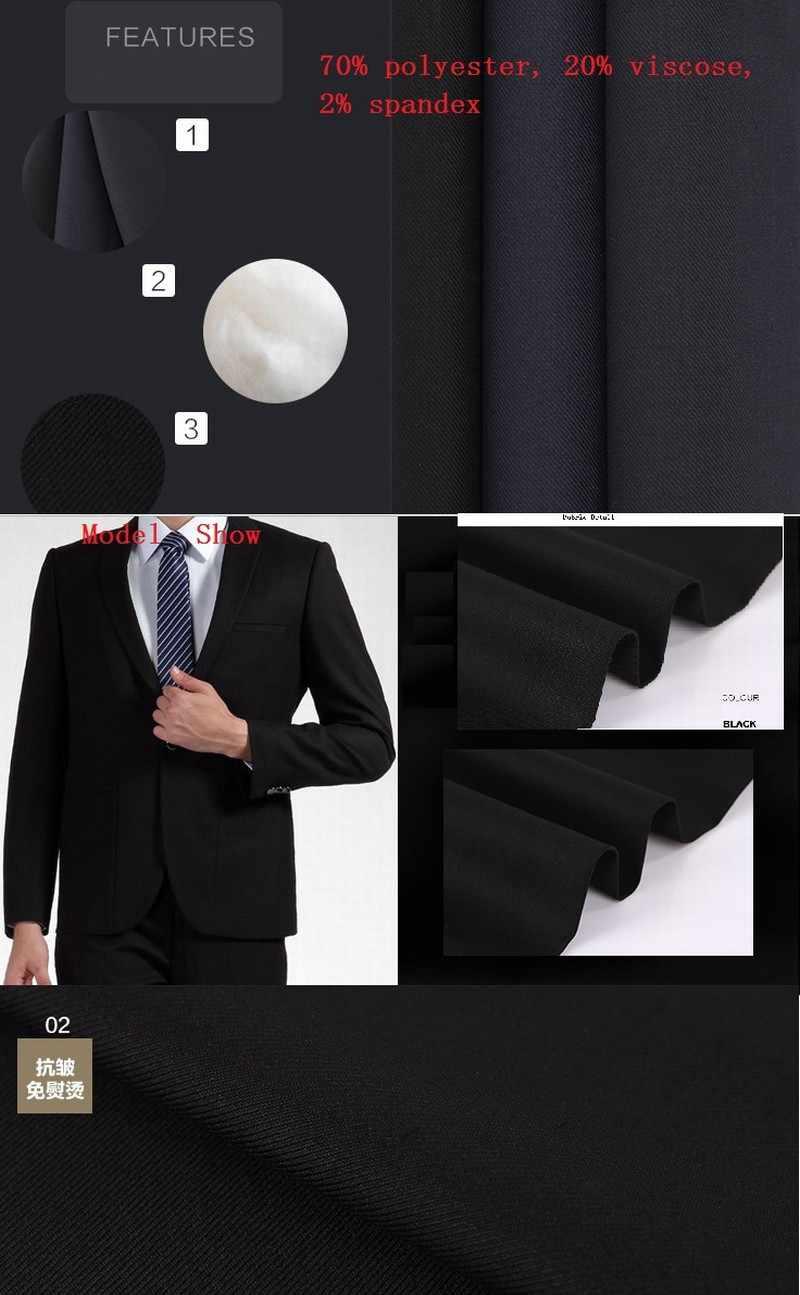 Knappe Charcoal Grey Shawl Revers Bruidsjonkers Bruidegom Smokings Mannen Pakken Bruiloft Prom Diner Beste Man Blazer (Jas + Broek + Vest)