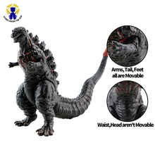16cm Kaiju Dinosaur Action Figure Model Collection Toys Large Size ABS Body Turnable Figure Toy For Boy Brinquedos Birthday Gift large size classic dinosaur toy triceratops soft animal model collection for boys action