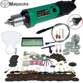 цена на Dremel Style 220V Mini Electric Drill engraver with 6 Position Variable Speed forDremel Rotary Tools with Flexible Shaft and480W
