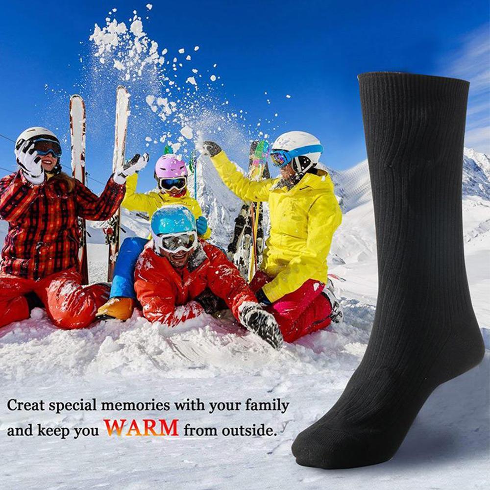 Женские Батарея 3v Термальность хлопковые носки с подогревом
