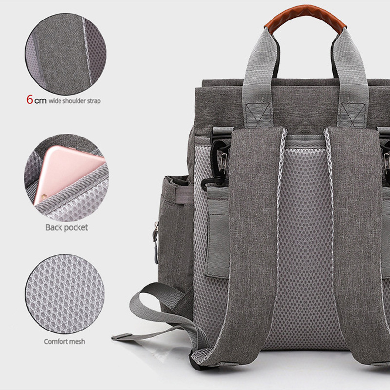 3psc/set Diaper Bag Fashion Mommy Diaper Backpack Baby Bag Backpack for Mom Diaper Bag for stroller