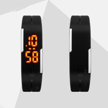 LED Digital Watch Electronic Wristwatches Lovers Men Women Watches