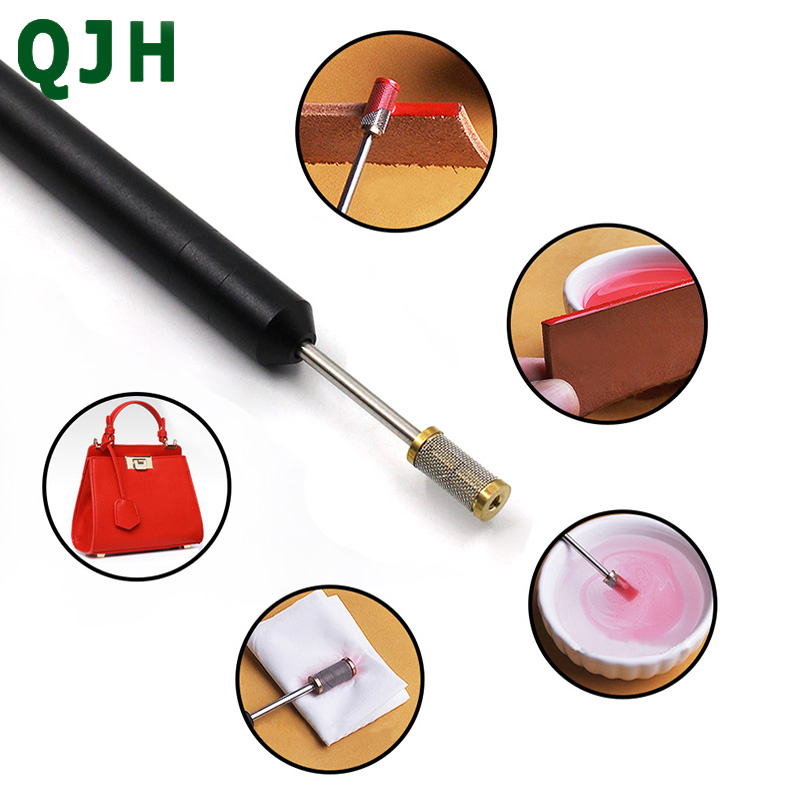 Leather Craft Edge Oil Treatment Tool Roller Pen Leather Painting Accessories Tool DIY Leather Edge Oil Roller Pen