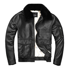 Free shipping.Brand man thick genuine leather coat,100% cowhide MA 1 jacket.classic Bomber leather jackets.winter clothes