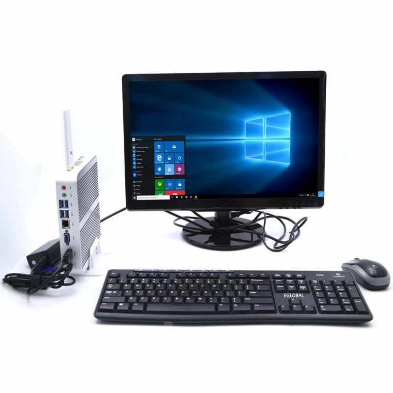 Eglobal Gaming Desktop PC DDR4 Intel Core I5-8250U/8259U Unit Sistem Komputer VGA HD Lan 8USB Mini PC