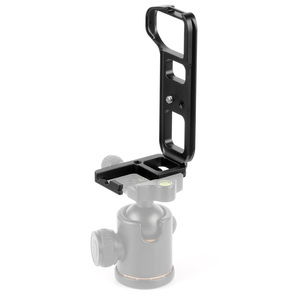 Image 4 - L Type Ball Head Quick Release Plate QR Mounting Bracket Board Mount for Sony a7II /A7R2 /A7M2 Arca Tripod Camera Spare Parts