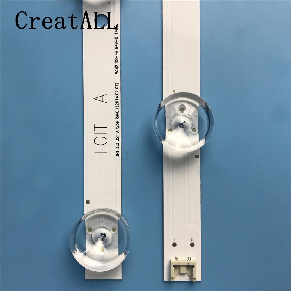 "Image 5 - LED backlight strip for LG 32""TV innotek drt 3.0 32 LGIT WOOREE A B  UOT 32MB27VQ 32LB5610 32LB552B 32LF5610 lg32lf560ubacklightbacklight led  -"