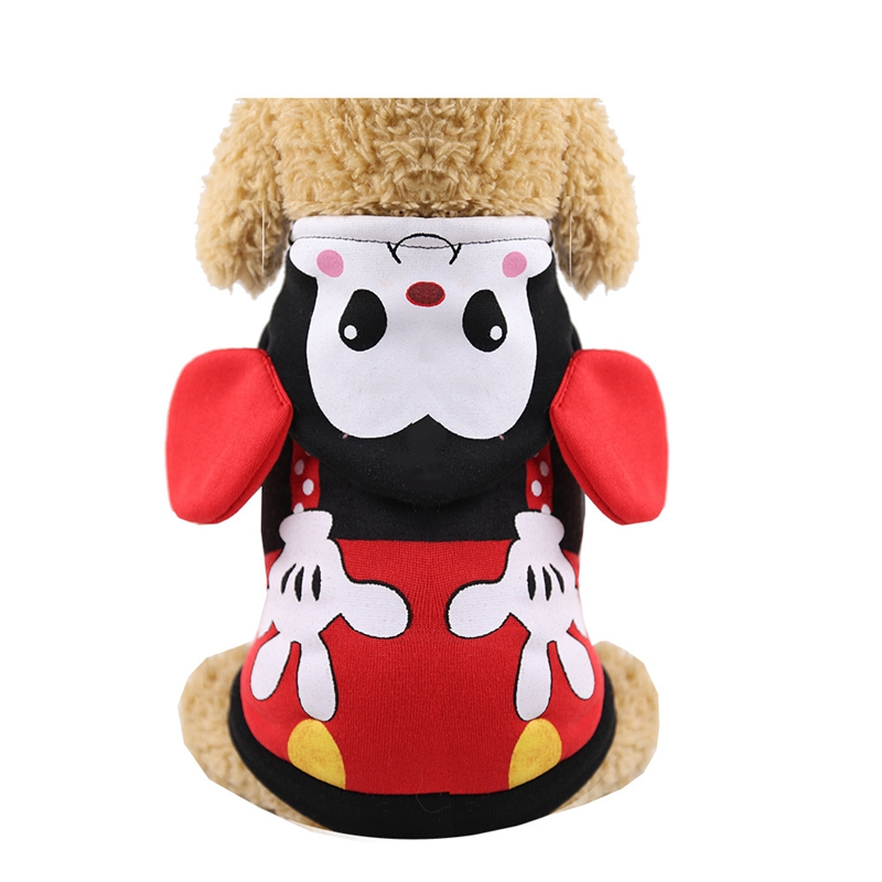 19 Winter Pet Dog Clothes Warm Cartoon Jacket Thick Cotton Coat Cute Small Dogs Pets Clothing for French Bulldog Puppy Teddy 5