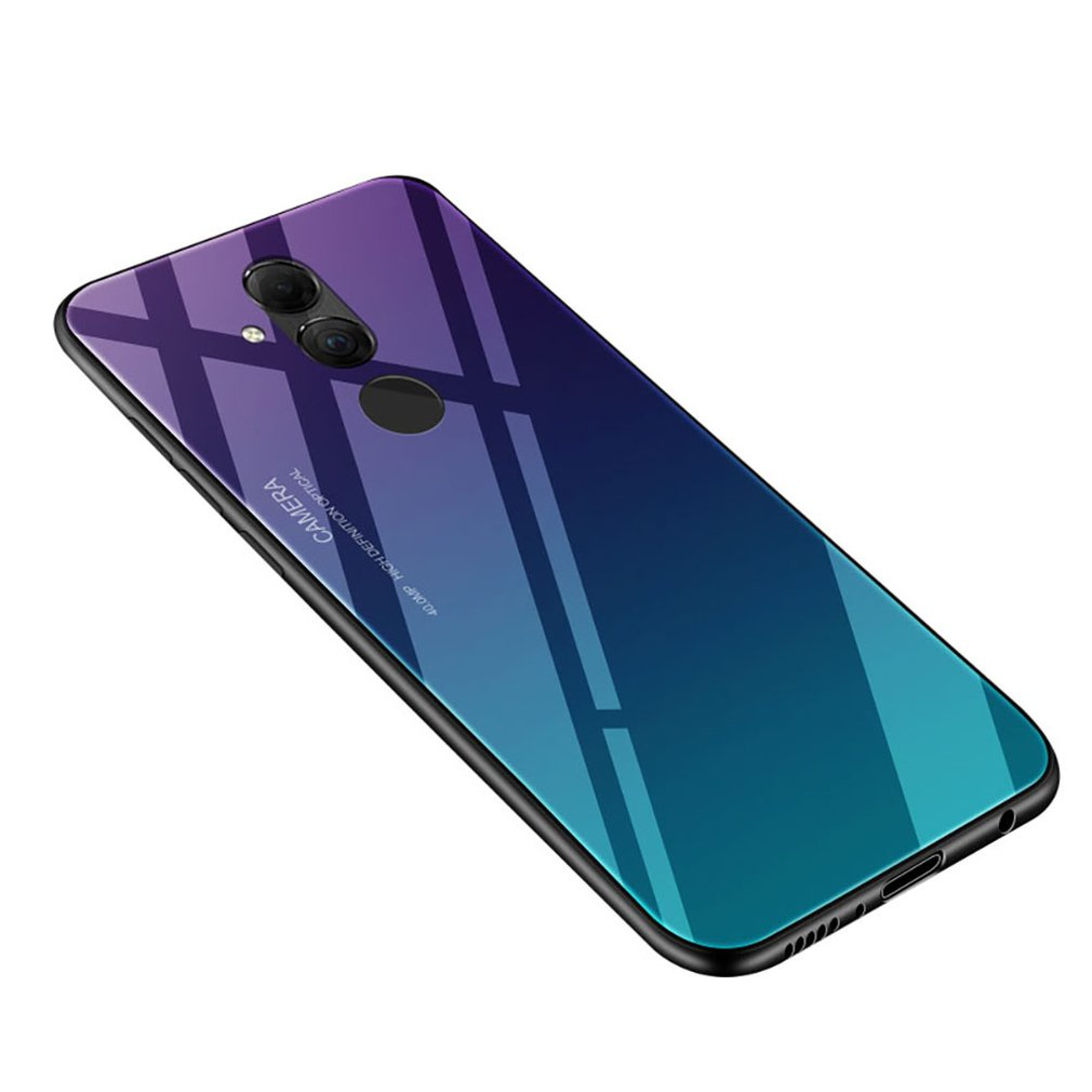 Gradient Tempered Glass Phone Case Cover For Huawei/Samsung/Redmi/Iphone