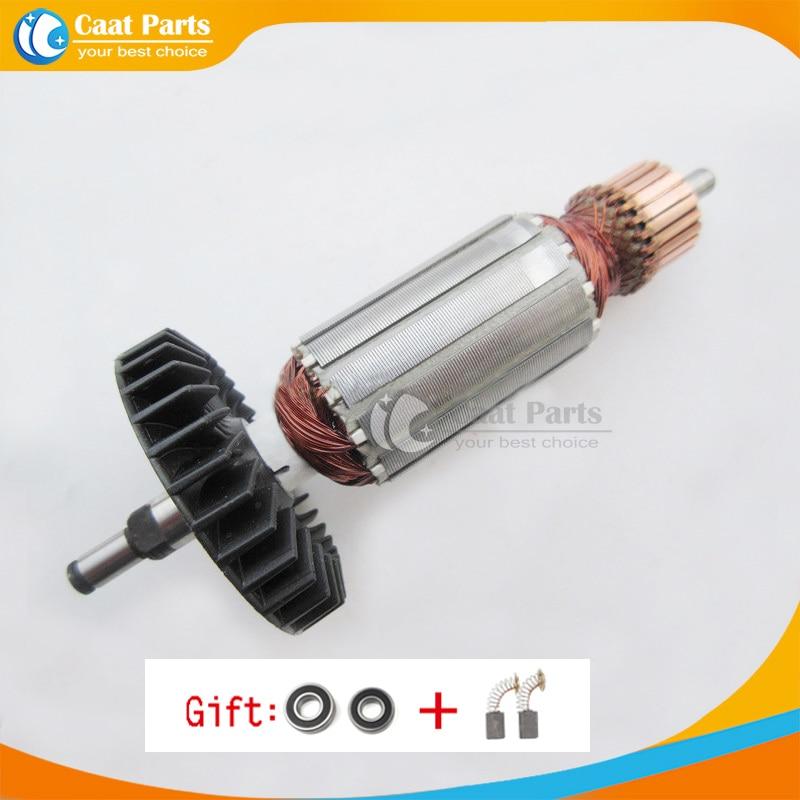 AC220-240V Drive Shaft Electric Hammer Armature Rotor For MAKITA 100 9523NB 9524NB 9525NB 517303-0 518835-0