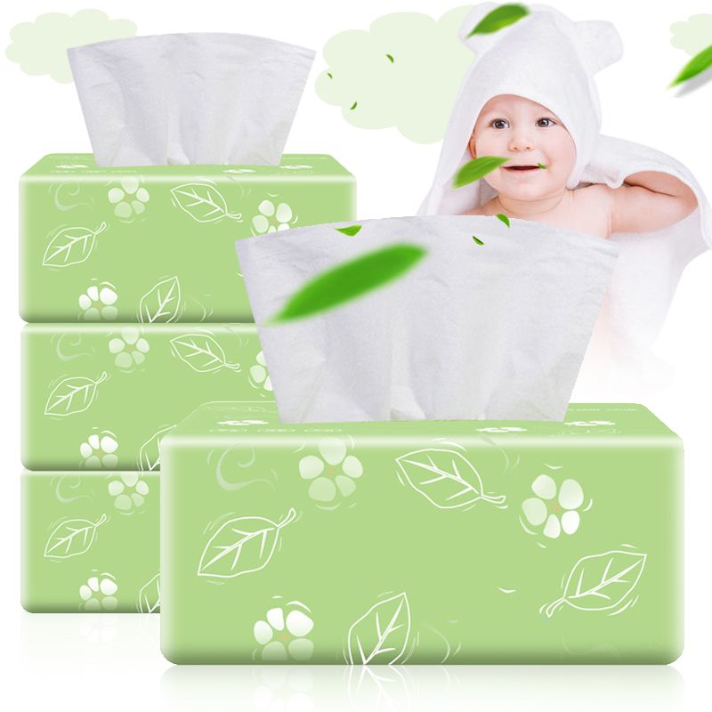 3 Packs Soft 3-Ply Facial Tissue 300 Tissues Per Packs 900 Tissues Total For Home New FS99
