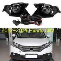 car bumper headlight for hONDA cr v crv fog light 2012~2014y halogen bulb 4300K Wire of hanress Headlamp for CR V CRV fog lamp