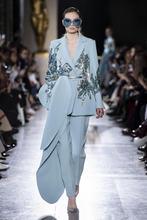 Платье 2021 комбинезоны вечерние платья светильник синий расшитые