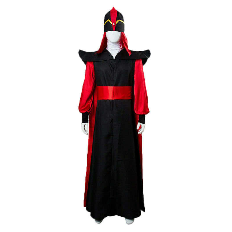 Robe Cloak Cape Hat  Aladdin The Return Of Jafar Cosplay Wizard Costume Outfit