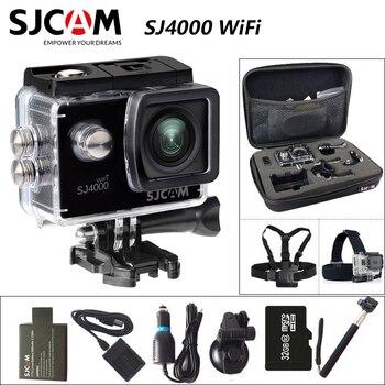 Original SJCAM SJ4000 WiFi Sports Action Camera 1080P 2.0 inch Screen Full HD Diving 30M Waterproof mini Camcorder
