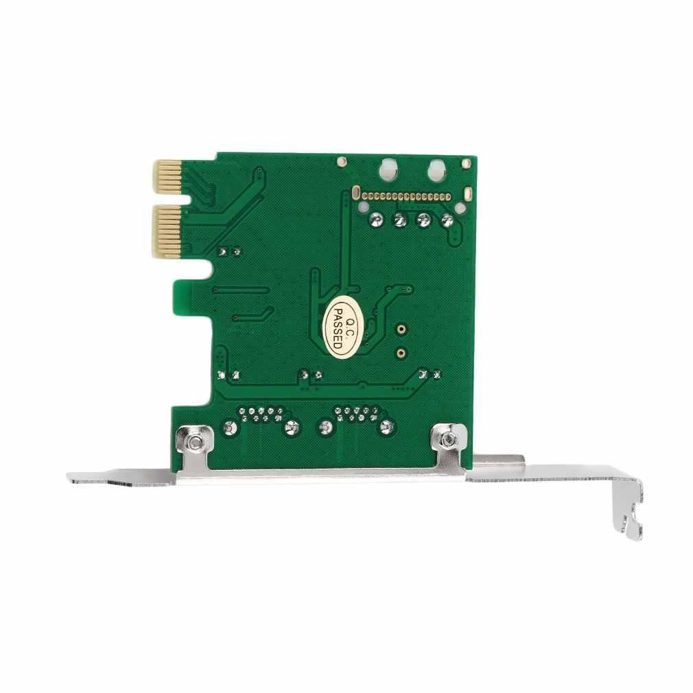 Nowy PCI-E PCI Express 2 port USB 3.0 Adapter do kart w/ USB 3.0 z przodu PanelTech gorąca promocja