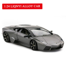 Exquisite High-simulation Large Toy Car Model REV Super Sport 1:24 Openable door Alloy Sports Gift
