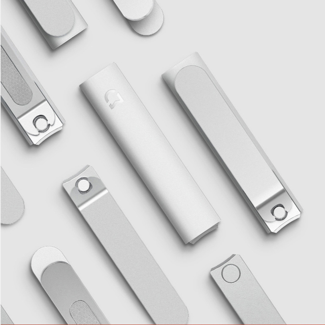 Xiaomi Mijia Stainless Steel Nail Clippers With Anti-splash cover Trimmer Pedicure Care Nail Clippers Professional File 5