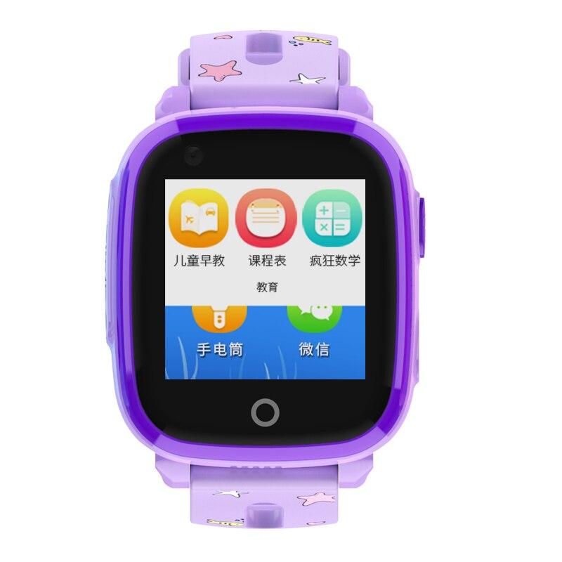 IP67 étanche Smart 4G caméra à distance GPS WI-FI enfants enfants étudiants montre-bracelet SOS appel vidéo moniteur Tracker localisation montre - 2