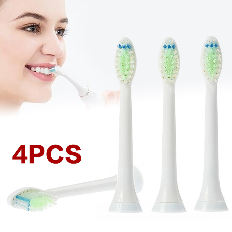 4pcs/set Replacement Brush Heads Electric Toothbrush Replacement Parts for Electric Toothbrush Philips Sonicare DiamondClean image